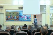 اکران فیلم های جشنواره عمار در مرکز توانبخشی خاتم الانبیاء کاشان